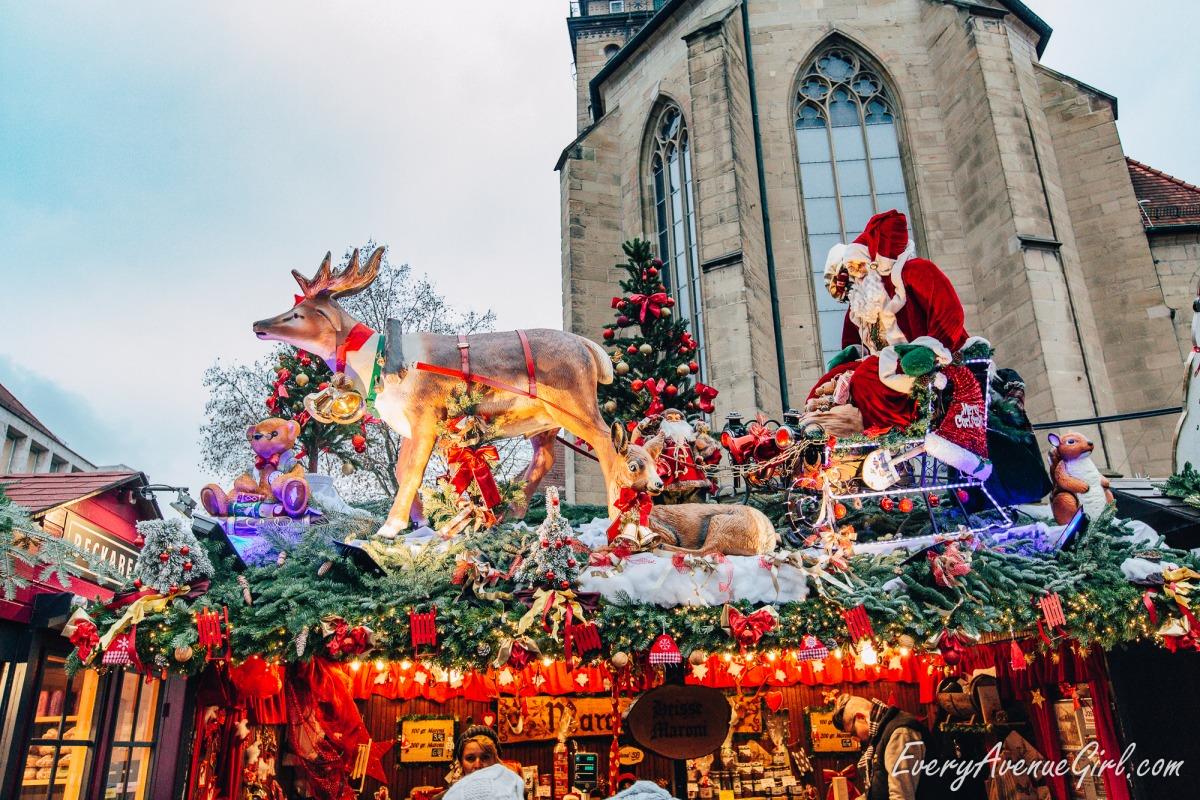 Female travel blog Christmas market 2745