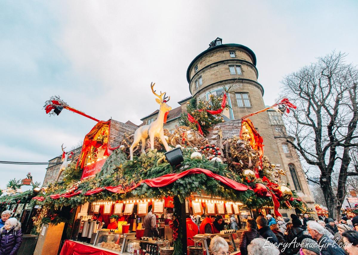 Female travel blog Christmas market 2746