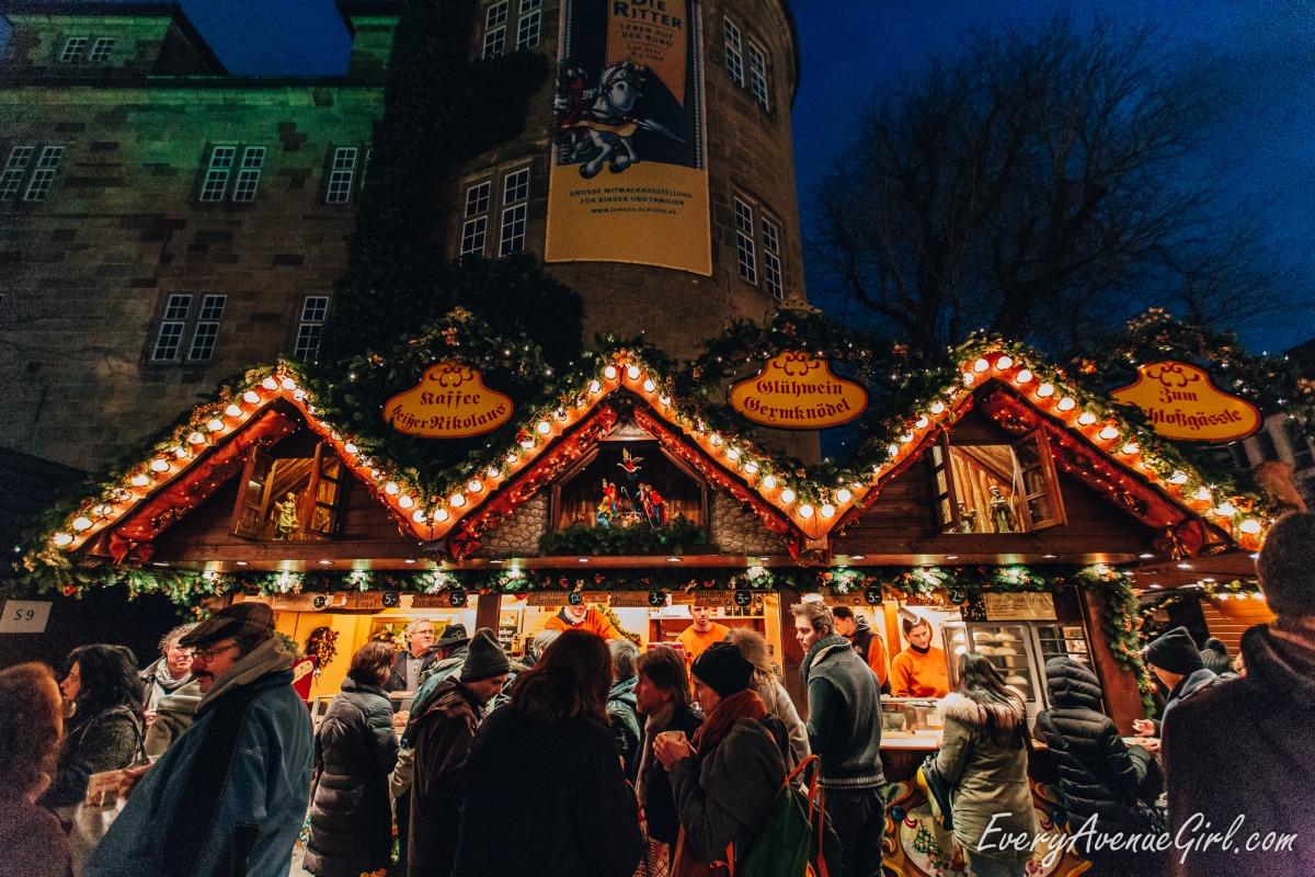 Female travel blog Christmas market 3085