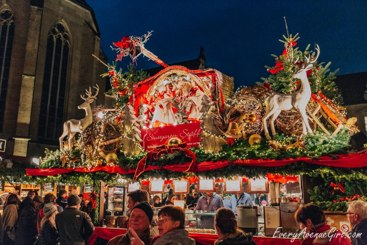 Female travel blog Christmas market 3086