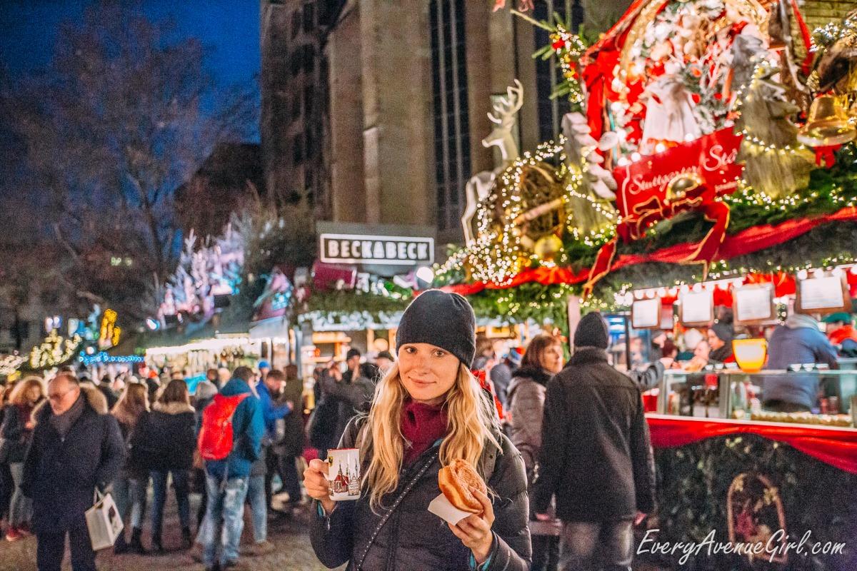 Female travel blog German Christmas market